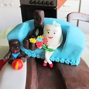Riesen Kinder-Riegel-Torte Rezept