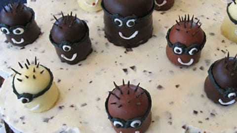 Mohrenkopf Torte Minions Faminino