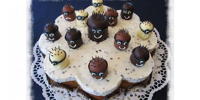 Mohrenkopf-Torte