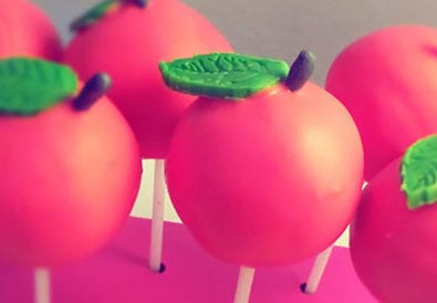Zitrus-Apfel Cake-Pops Titel