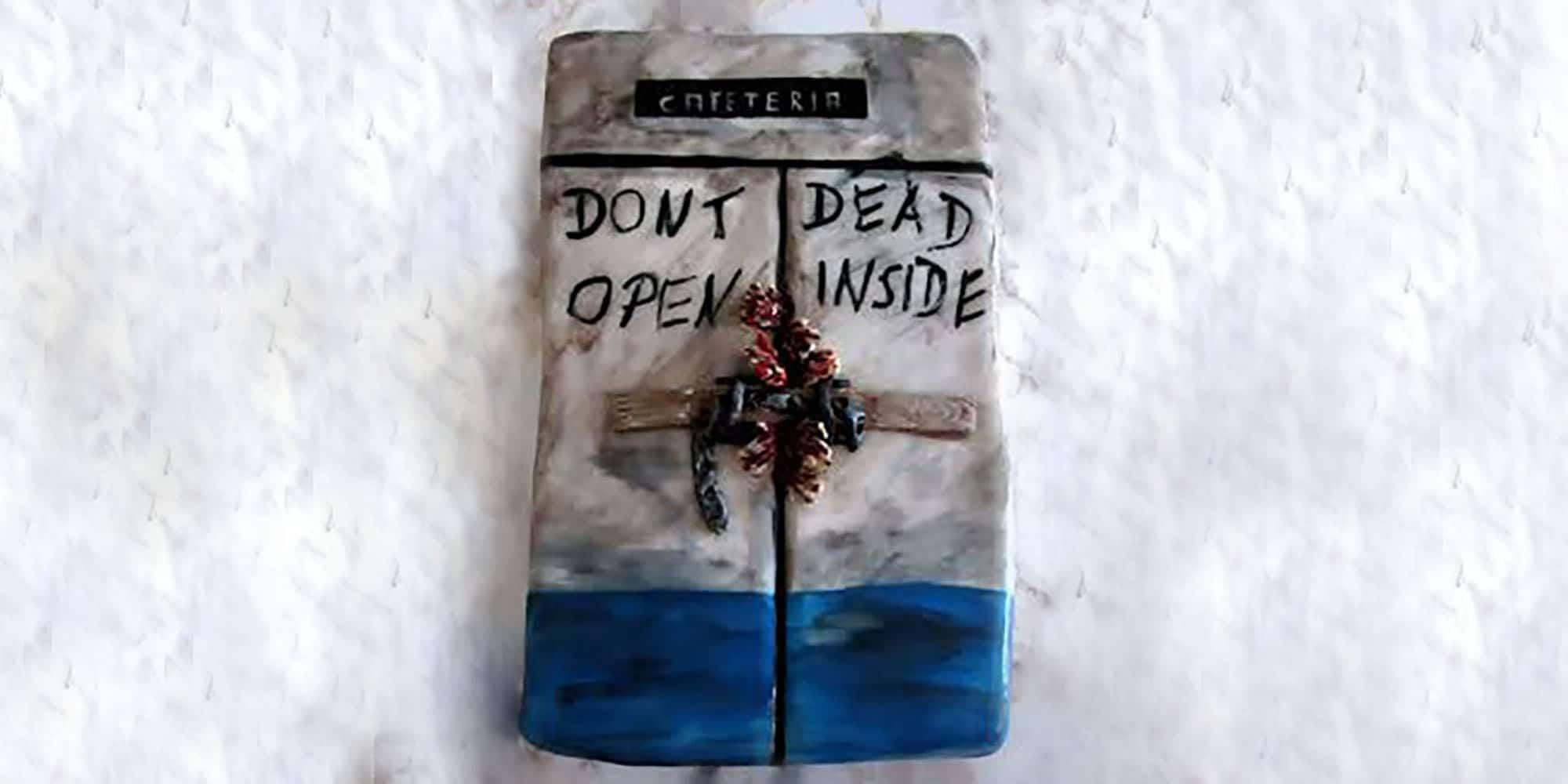 The walking dead Torte Titel