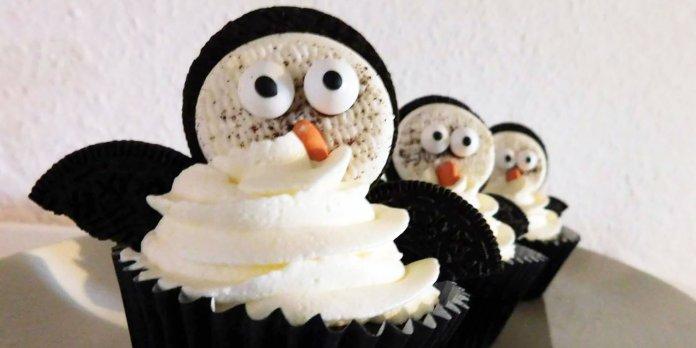 Pinguin-Oreo-Cupcakes