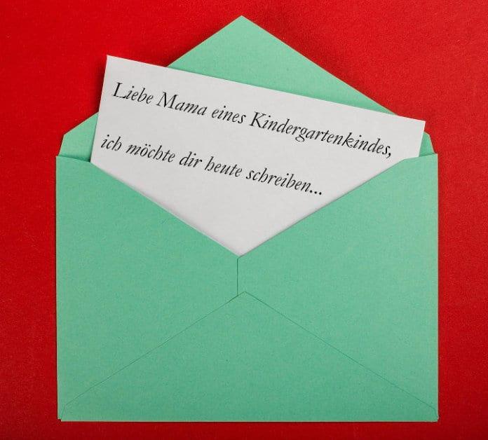 Acnl Briefe Von Mama : Brief von einer erzieherin an eine kindergarten mama