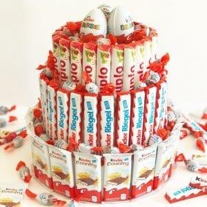 Schokoriegel-Torte Rezept