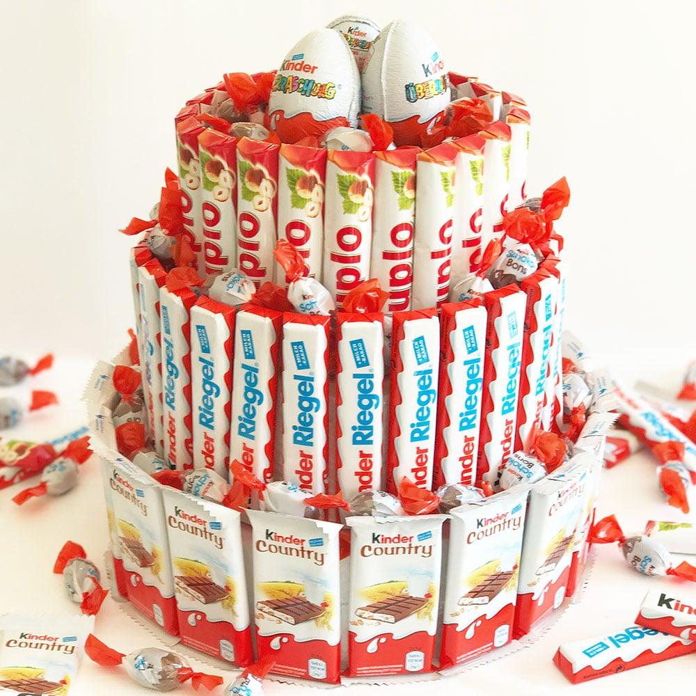 Riesen Kinder Riegel Torte Rezepte Und Dekorieranleitung