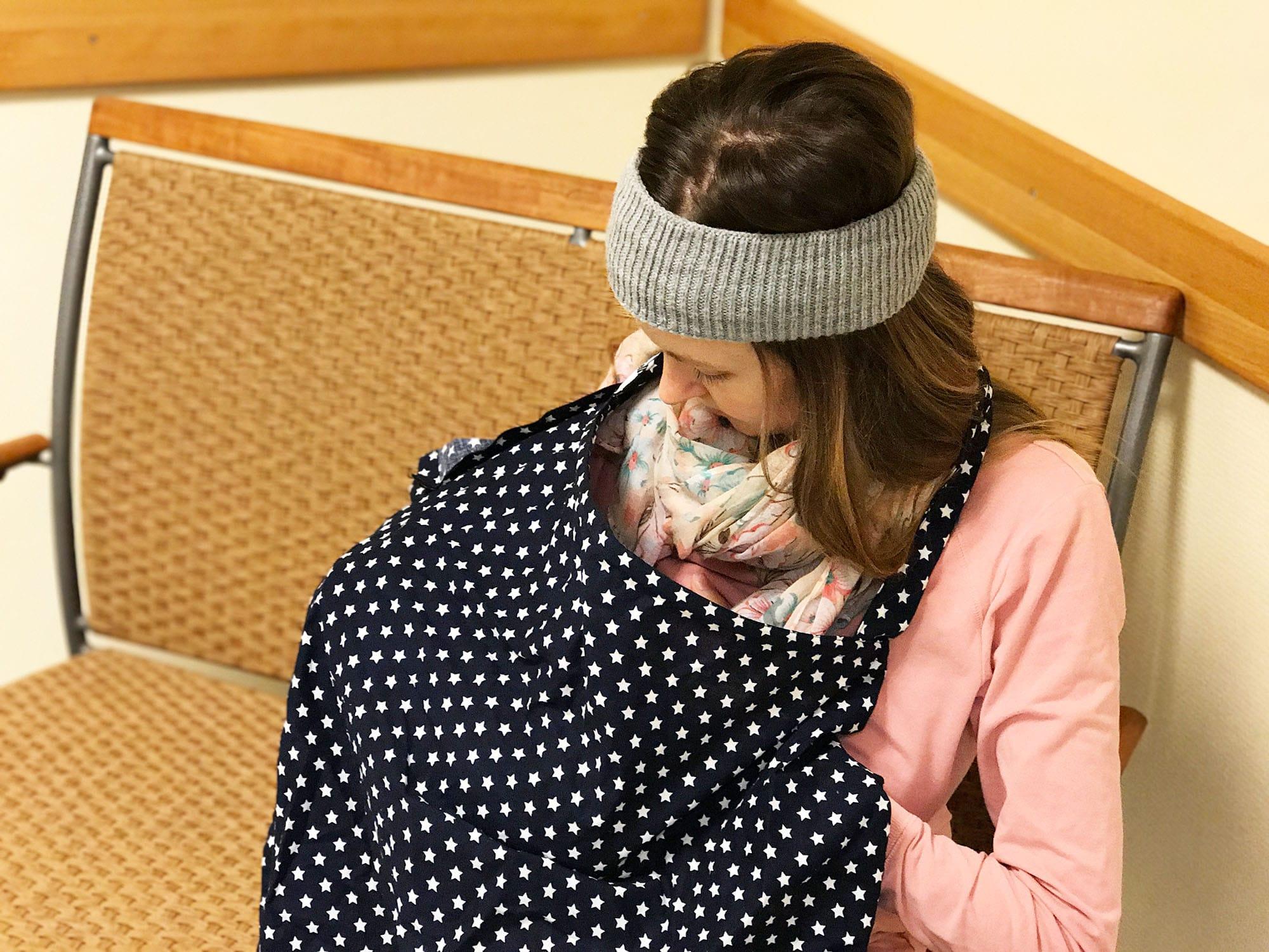 Stillen in der Öffentlichkeit: Ich stille mit meinem Stilltuch