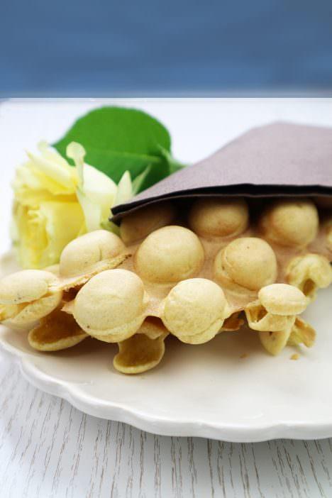 bubble-waffles pur blume