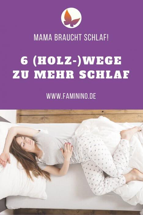 Mehr Schlaf für Mama mit Baby