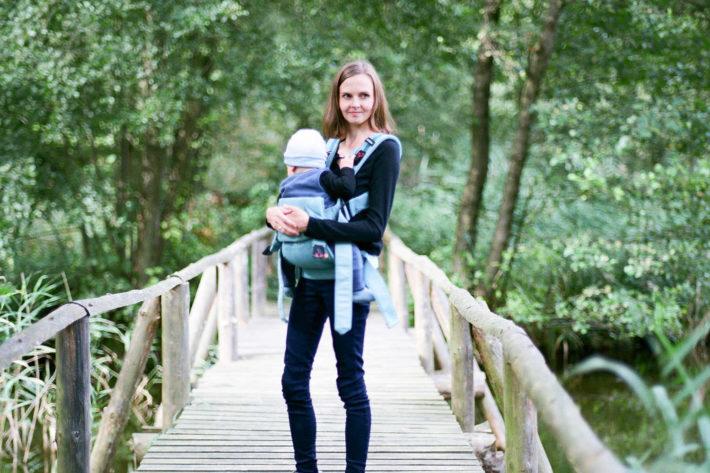 babybjoern babytrage one outdoors praxis-test