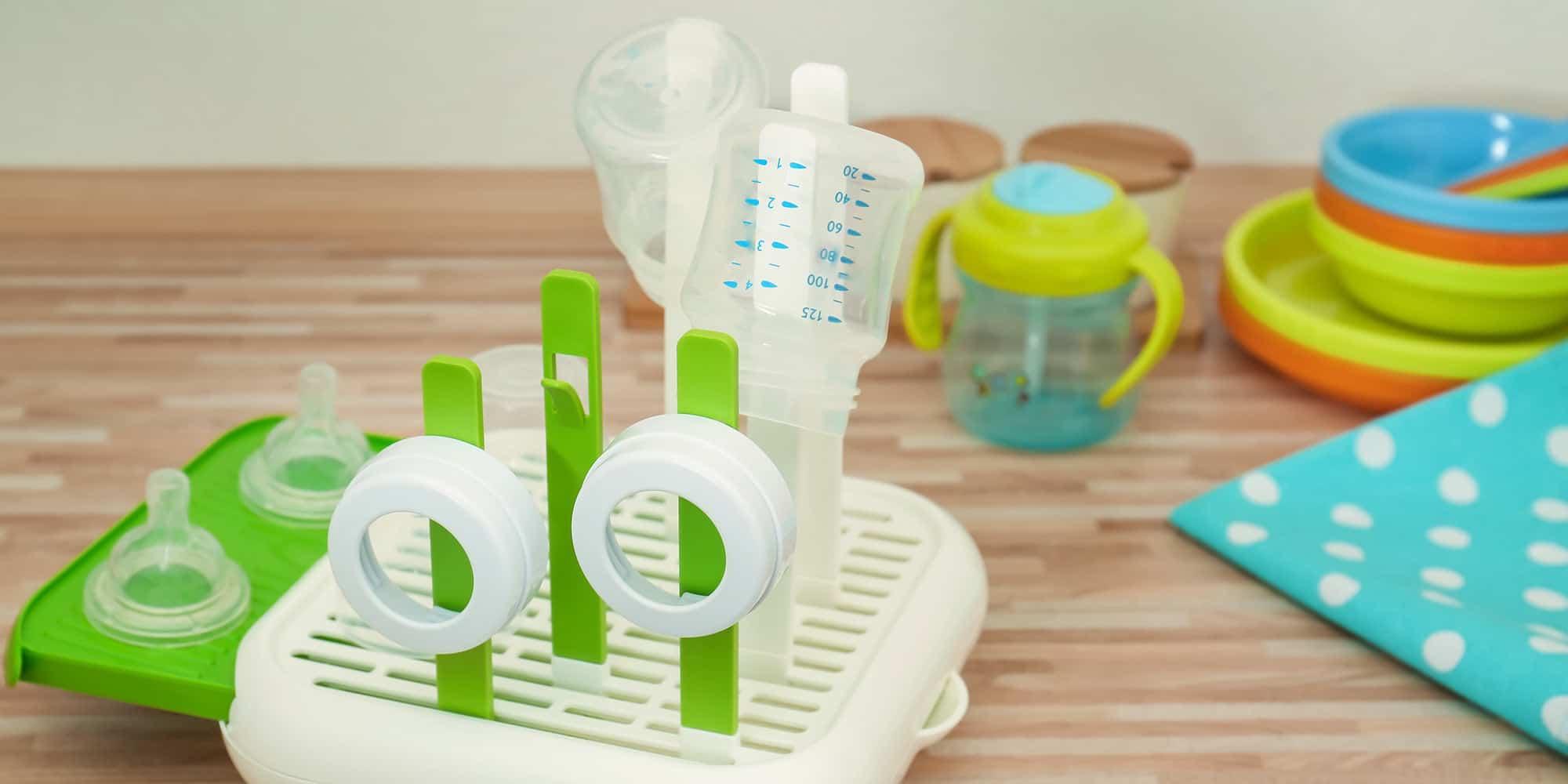 Babyflaschen sterilisieren