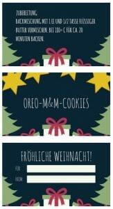 backmischung im glas cookies weihnachten