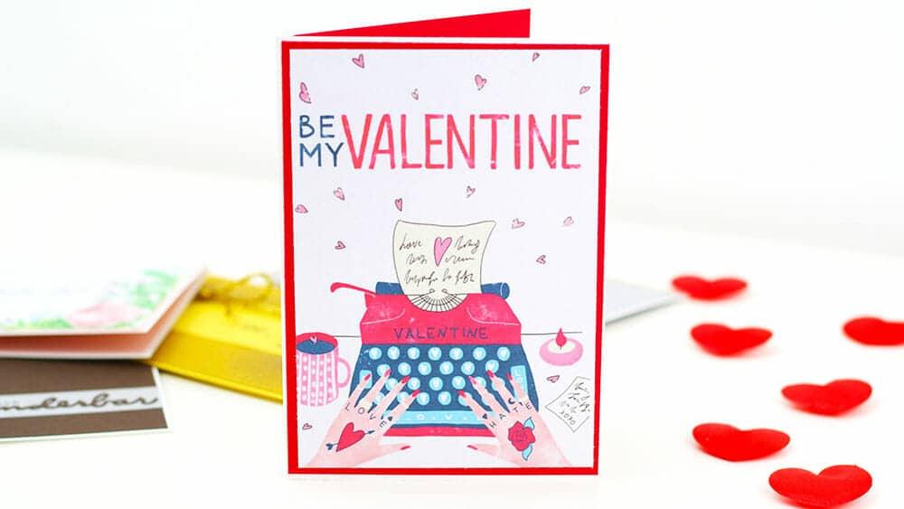 valentinstag karte kostenlos ausdrucken vorlage1