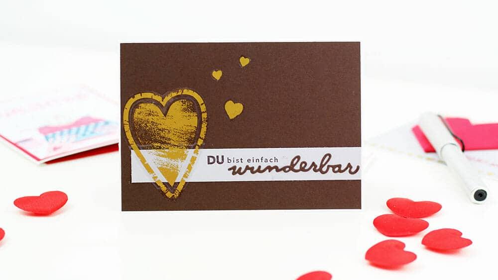 Valentinstag Karte Stampin Up2
