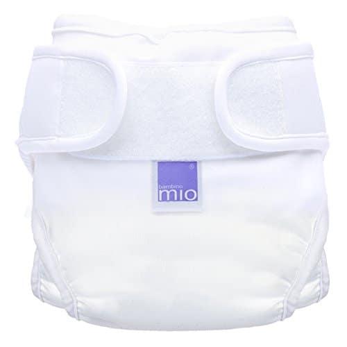Bambino Mio, miosoft Windelüberhose, Weiß, Größe 2 (9kg+)