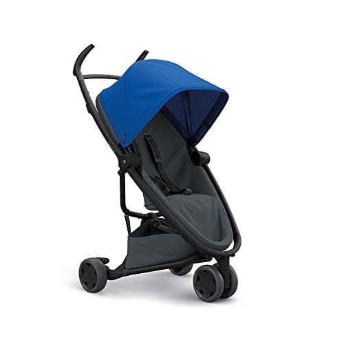 Quinny Zapp Flex Stylischer Komfort-Drei Räder Buggy, mit vielen Extras, leicht, kompakt faltbar, ab der Geburt nutzbar, black on sand