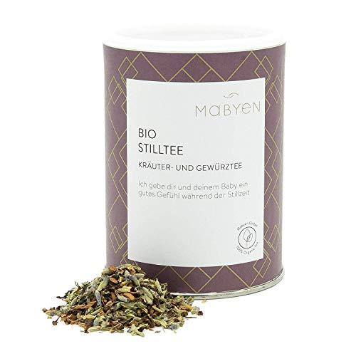 "Mabyen Bio Stilltee - Stillzeit Tee Bekannt aus""Die Höhle Der Löwen"" Kräutertee Naturbelassen Lose Kräuter 90 gr Bockshornklee Mama Tee…"