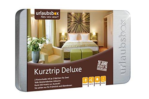Hotelgutschein für Kurzurlaub 'Kurztrip Deluxe' - Urlaubsbox für 2 Personen