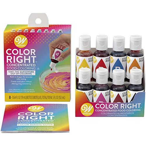 Wilton Color Right Performance Color System 8/pkg
