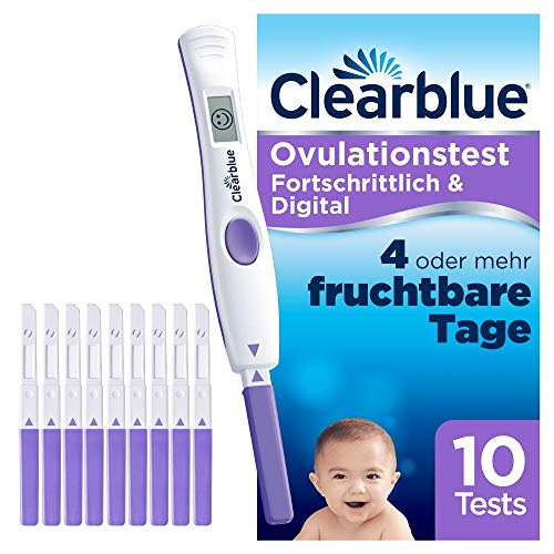 Clearblue digitaler Ovulationstest 2.0, 10 St