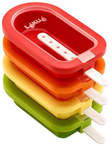 Lékué Lékué- Eisform, stapelbar, Mini, 10,5cm, 4-teilig