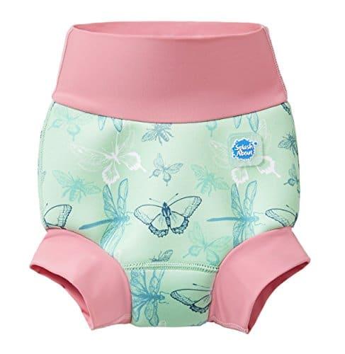 Splash About Unisex-Baby Neue Und Verbesserte Happy Nappy Windel Schwimmen, Dragonfly, 0-3 Monate