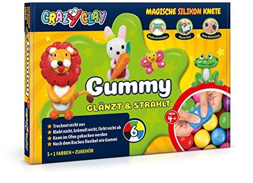 CrazyClay Gummy Basic-Set Backknete