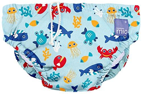 Bambino Mio Schwimmwindel SWPL DSB, Meerestiere Blau, L (1-2 Jahre)