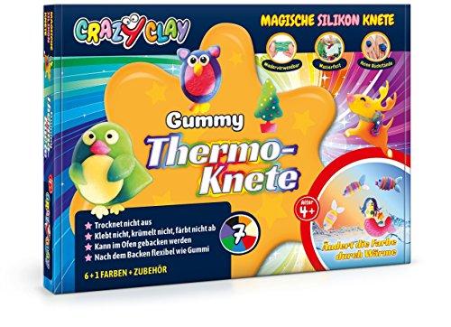 CrazyClay Gummy Thermo-Set Backknete