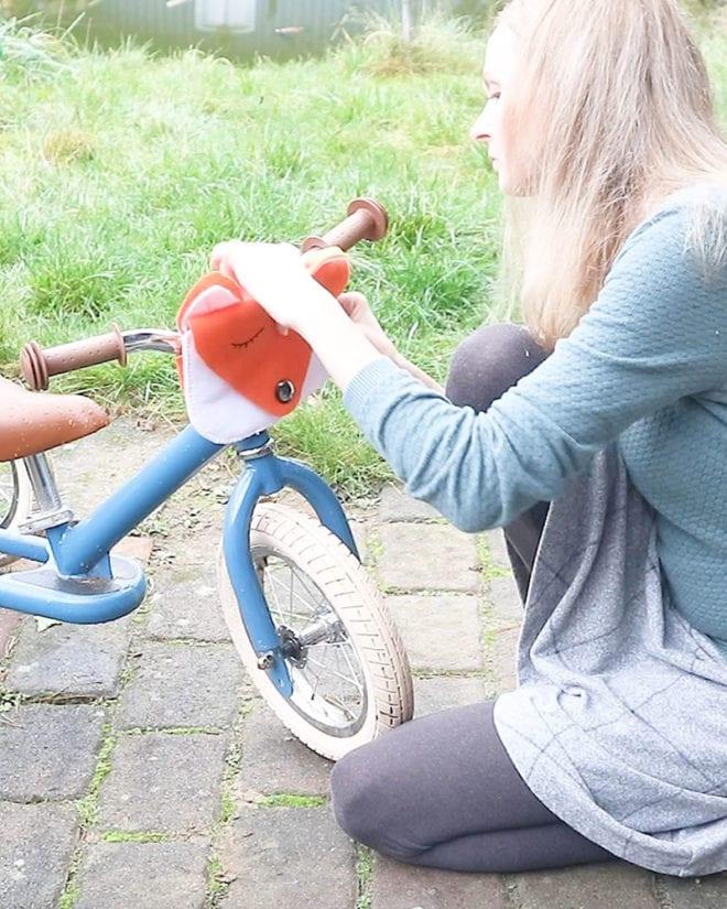 Fahrradtasche Nähanleitung fertig