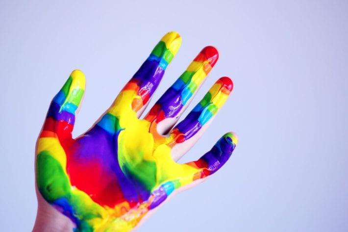 fingerfarbe baby selber machen titel