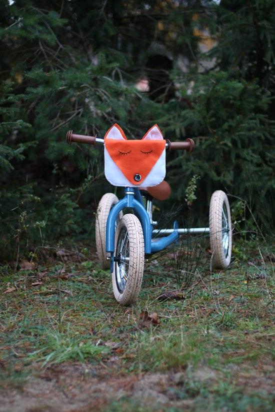 Fuchs Fahrradtasche fertig