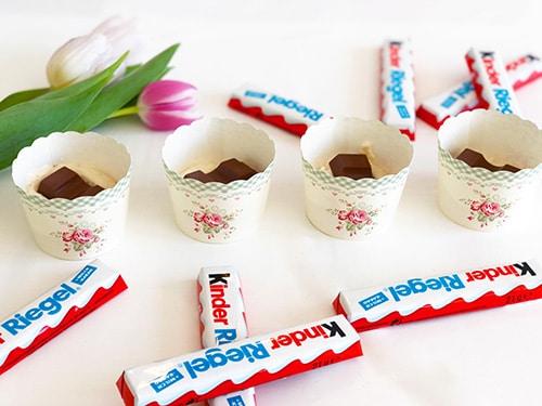 kinderriegel cupcakes rezept anleitung