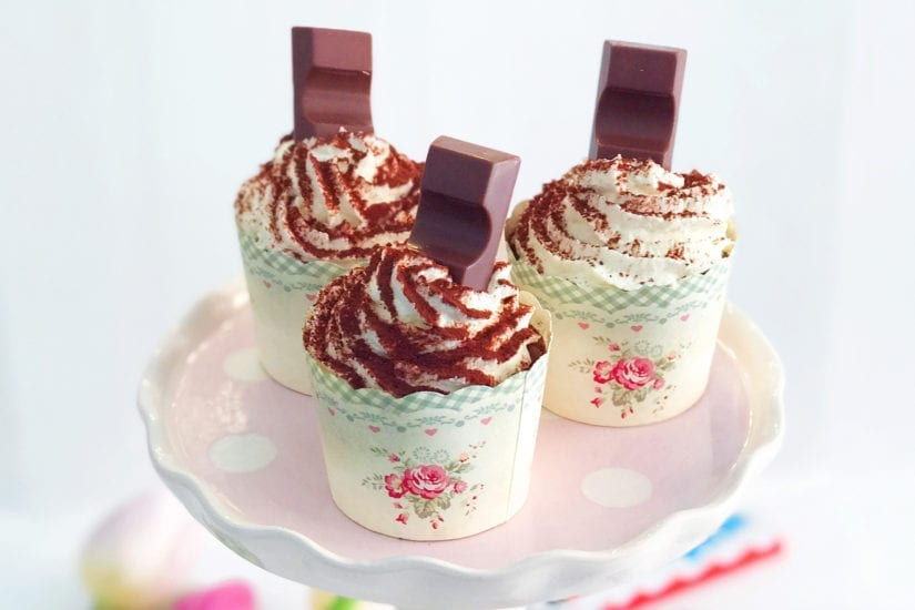 kinderriegel cupcakes rezept titel
