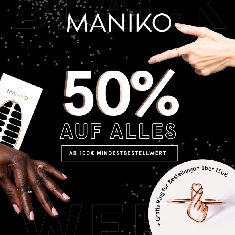 Black Week bei Maniko Nails