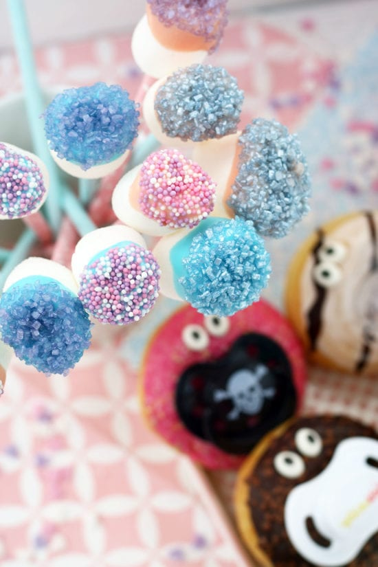 marshmallowpops babyparty essen