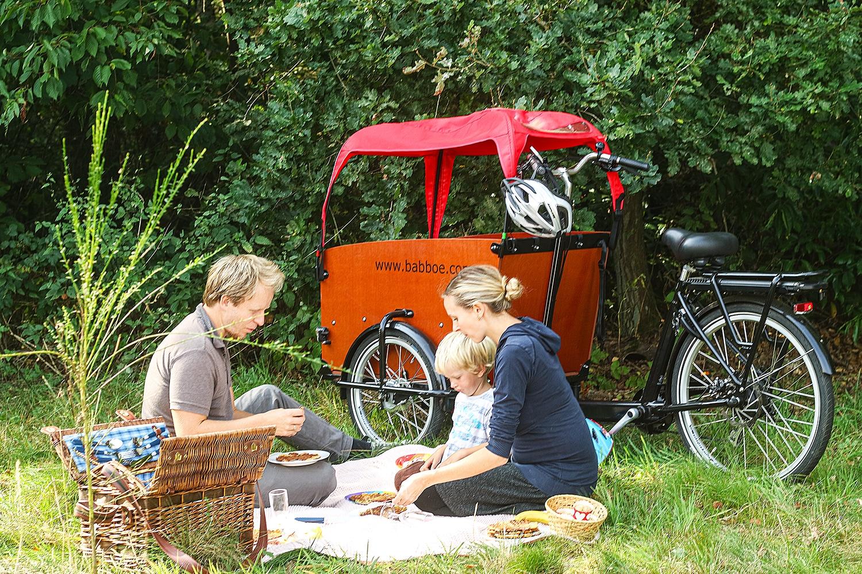 picknick mit kindern babboe