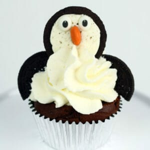 pinguin fledermaus cupcakes rezept