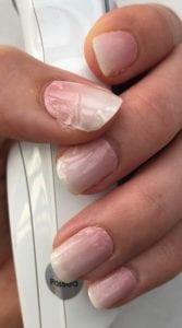sticker gigant neu nagelfolie rosa babyboomer
