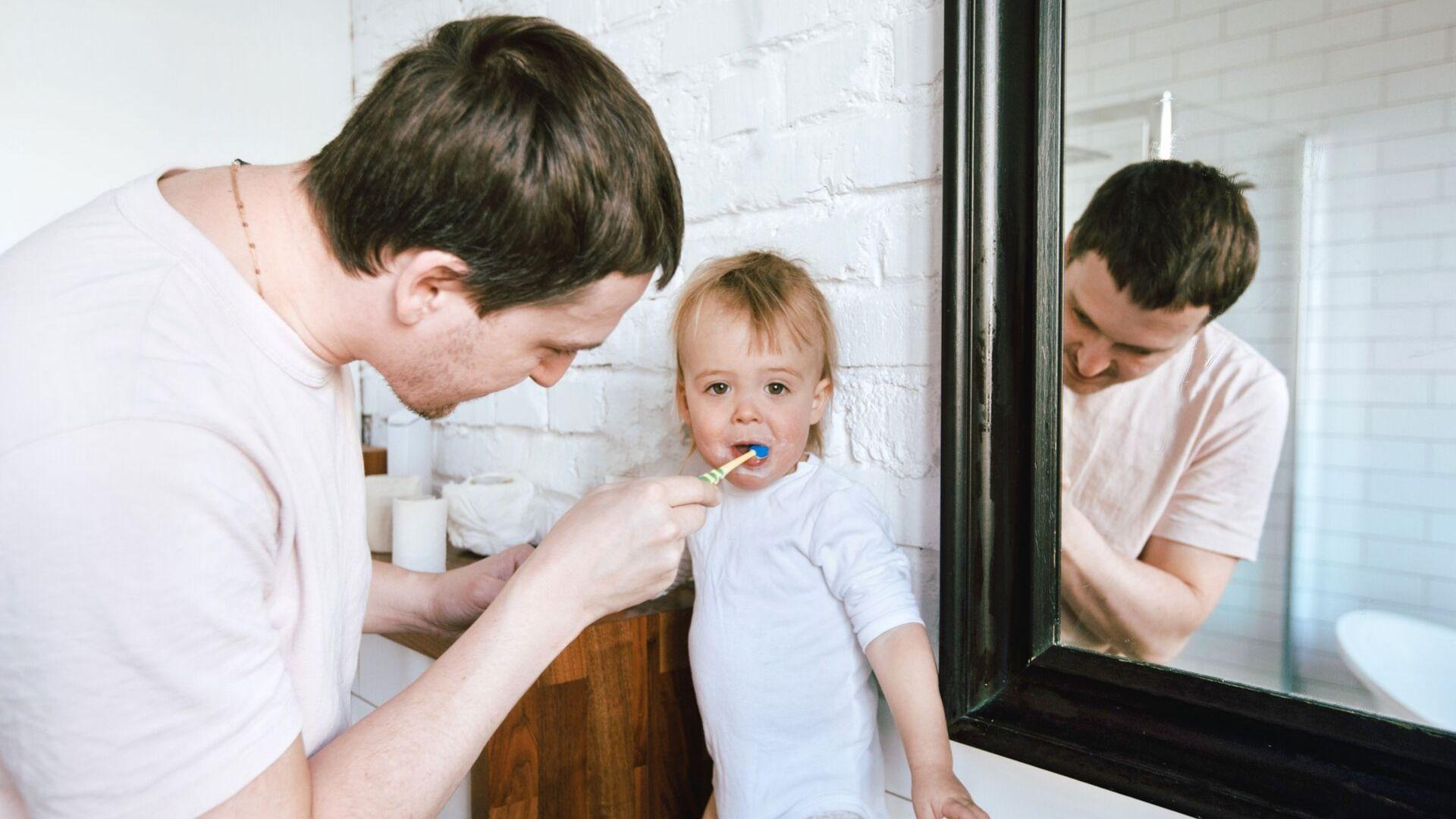 zähne putzen kleinkind